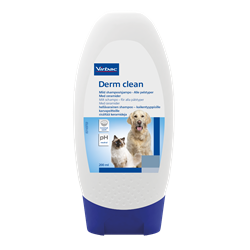 Virbac Derm Clean. Shampoo til normal hud til hund og kat. 200 ml