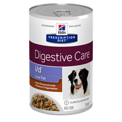 Hill´s Prescription Diet™ i/d™ Low Fat Canine Stew flavoured with Chicken & Vegetables 1 dåse med 354 g