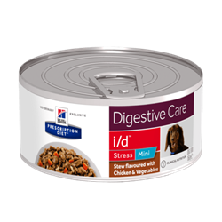 Hill´s Prescription Diet™ i/d™ Stress Mini Canine Stew flavoured with Chicken & Vegetables 1 dåse med 156g