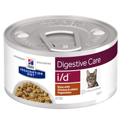 Hill´s Prescription Diet™ i/d™ Feline Stew with Chicken & added Vegetables 1 dåse med 82 g