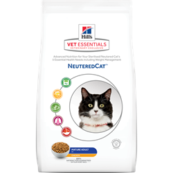 Hills VetEssentials Feline Neutered MATURE Adult 7+. Foder til NEUTRALISEREDE SENIOR katte 3,5 kg